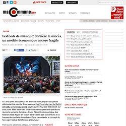 : Festivals de musique: derrière le succès, un modèle économique encore fragile actualité Besançon Franche-Comté