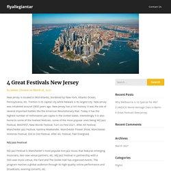 4 Great Festivals New Jersey – flyallegiantar