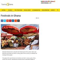 Festivals in Ghana - touringghana.com