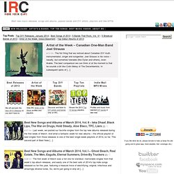 Best indie rock music, great new songs, hot bands, album releases