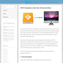 NTFS Festplatte unter Mac OS beschreiben › Blog - Philipp Thom