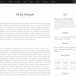 Féta vegan