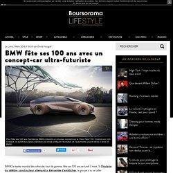 BMW fête ses 100 ans avec un concept-car ultra-futuriste