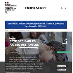 Concours national : Fête des Fables, faites des fables...