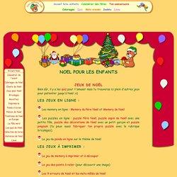Jeux de Noël pour les enfants