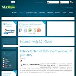 Fête de l'Internet 2015 : du 21 mars au 21 juin 2015