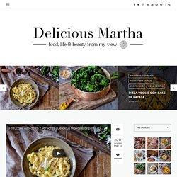 Fettuccine Alfredo, dos versiones de la misma salsa - Delicious Martha