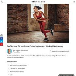 Das Workout für maximale Fettverbrennung – Workout Wednesday