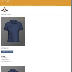 Feuerwehr Poloshirt mit dem Shirt-Designer selbst gestalten - schnelle Lieferung und günstiger Preis