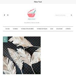 Feuilles plumes en papier - Fées Tout