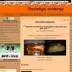 Feuilleté alsacien - Gwladys cooking