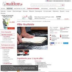Pâte feuilletée - Recette de cuisine avec photos