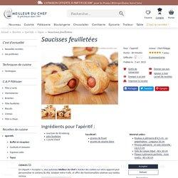 Saucisses feuilletées - Notre recette illustrée - Recette facile