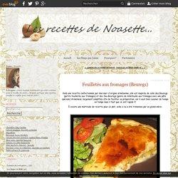 Feuilletés aux fromages (Beuregs) - Recettes a gogo...