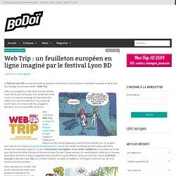 Web Trip : un feuilleton européen en ligne imaginé par le festival Lyon BD
