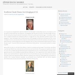 Feuilleton Claude Simon / Les Géorgiques # 16
