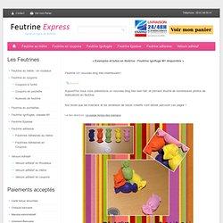 Feutrine Un nouveau blog tres interressant ! - F E U T R I N E - E X P R E S S : Vente en ligne de Feutrine