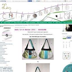 Défi'13 # févier 2011 : BICOLORE