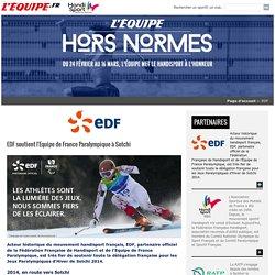 Hors Normes - RATP. Du 24 février au 16 mars, l'Équipe met le handisport à l'honneur.