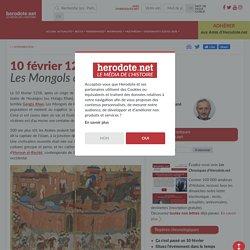 10 février 1258 - Les Mongols détruisent Bagdad - Herodote.net