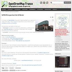 SOTM-FR à Lyon les 23 et 24 février