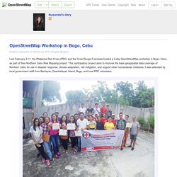 OpenStreetMap Workshop in Bogo, Cebu
