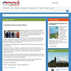 Actualités adhérents - Le WebSIG maitrisé en Seine-et-Marne