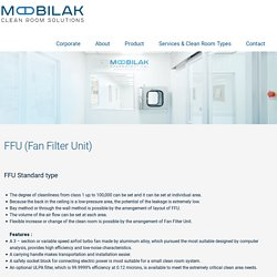 FFU (Fan Filter Unit) - Mobilak