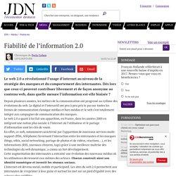 Fiabilité de l'information 2.0