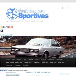 Fiat 130 Coupé V6 3200 -