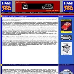 FIAT NUOVA 500 : L'histoire de la Fiat 500