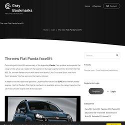 The new Fiat Panda facelift