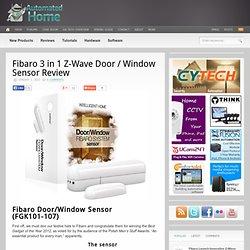 Fibaro 3 in 1 Z-Wave Door / Window Sensor Review