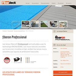 Lames de terrasse en bois composite - fiberon PROFESSIONAL