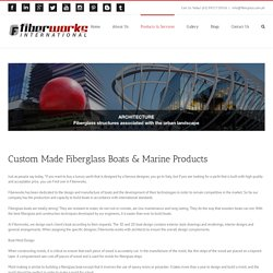 Fiberglass Boats & Marine Products