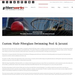 Custom Made Fiberglass Swimming Pool & Jacuzzi