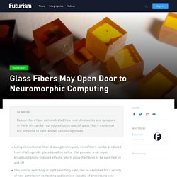 Glass Fibers May Open Door to Neuromorphic Computing