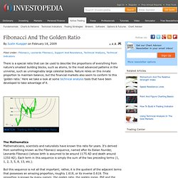 Fibonacci And The Golden Ratio