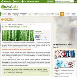 fibre écolo change la mode et le textile