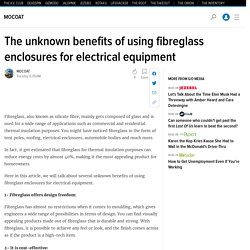 The unknown benefits of using fibreglass enclosures for electrical equipment