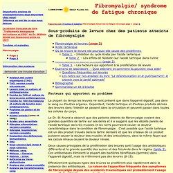 Fibromyalgia, Page 2