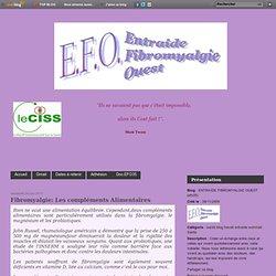 Fibromyalgie: Les compléments Alimentaires