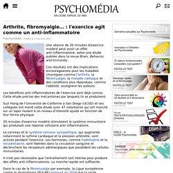 Arthrite, fibromyalgie…: l'exercice agit comme un anti-inflammatoire
