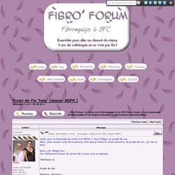 Fibro'Forum : le forum de la fibromyalgie et du SFC
