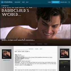 Fic: Only Son, Part 1 - RabidChild's World