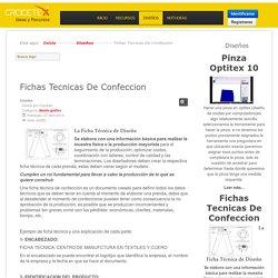 Fichas Tecnicas De Confeccion