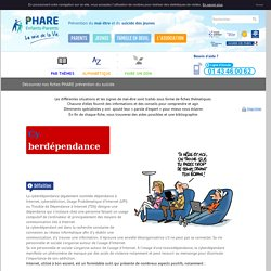FIche Cyberdépendance - Phare