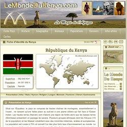 Fiche d'identité du Kenya