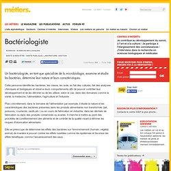 Fiche metier bacteriologiste