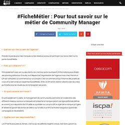 Fiche métier : Community Manager